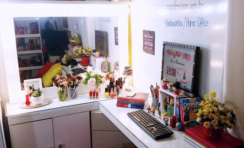 Tour pela minha Penteadeira/ Home Office