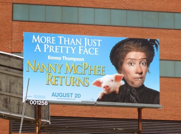 Nanny McPhee Returns movie billboard