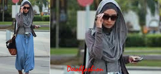 Cara Praktis Tampil Modis Dengan Jilbab