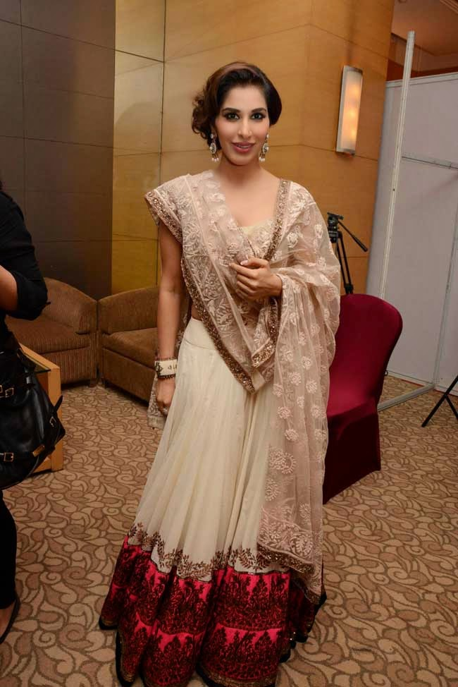 Sophie Choudary at Men for Mijwan charity fashion show