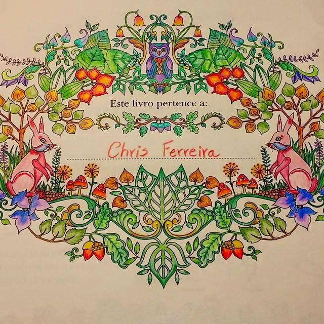 "ideias para pintar livro jardim secreto : ideias para pintar livro jardim secreto:Livros para colorir ""Jardim Secreto"" e ""Floresta Encantada"" – Terapia"