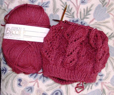 Christinas Knitting: FO: Raspberry Beret
