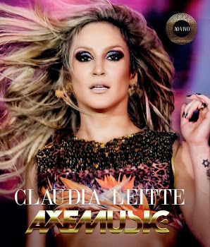 capa do dvd ao vivo axemusic Download   Claudia Leitte: Axemusic Ao Vivo   DVDRip AVI + RMVB (2014)
