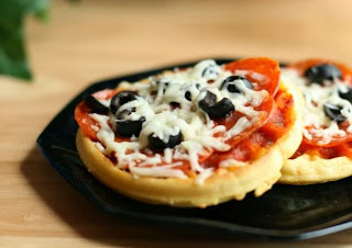 Gluten Free Waffle Pizza Recipe
