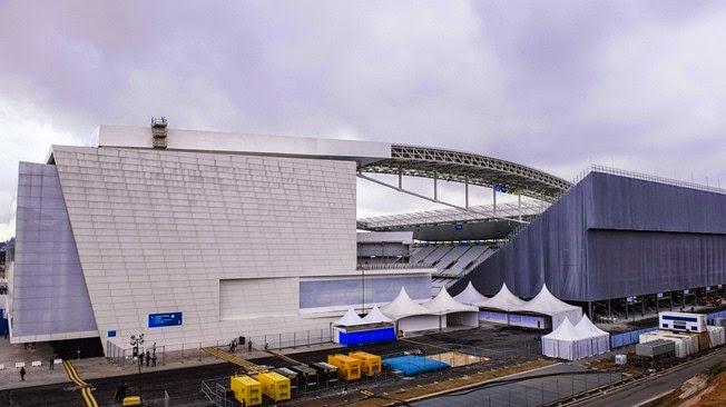 Stadium of ARENA DE SAO PAULO