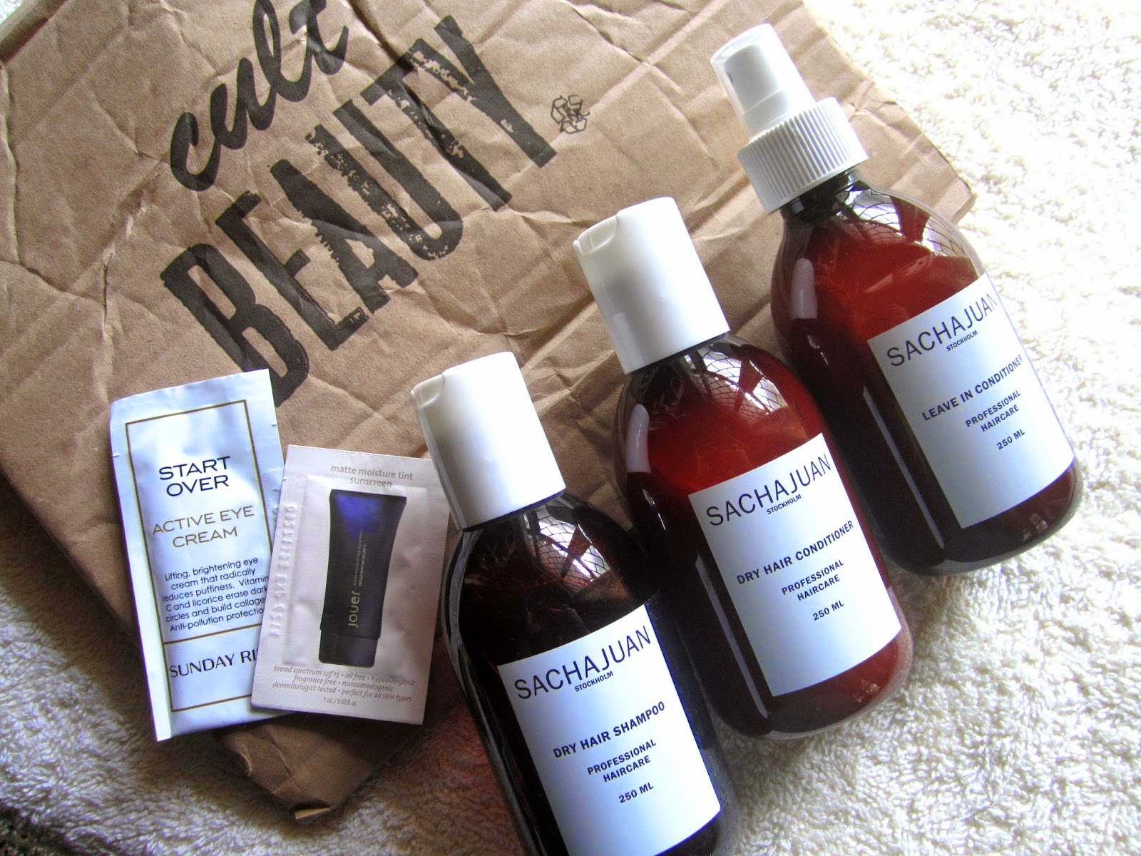 Cult Beauty Haul ft. Sachajuan