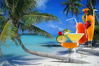 cocteles tropicales