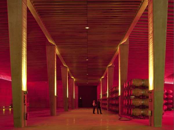 Interior Bodegas Portia | Foster and Partners
