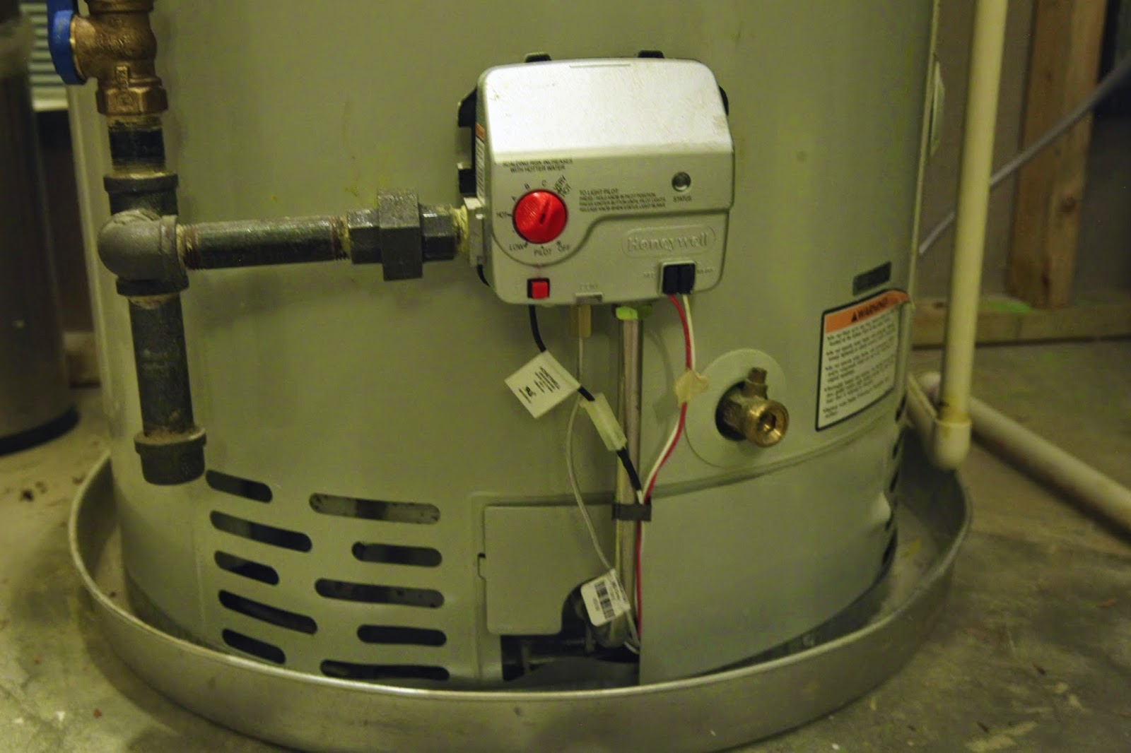 Base Of The Water Heater