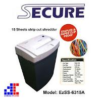 Harga Promo Paper Sheredder SECURE