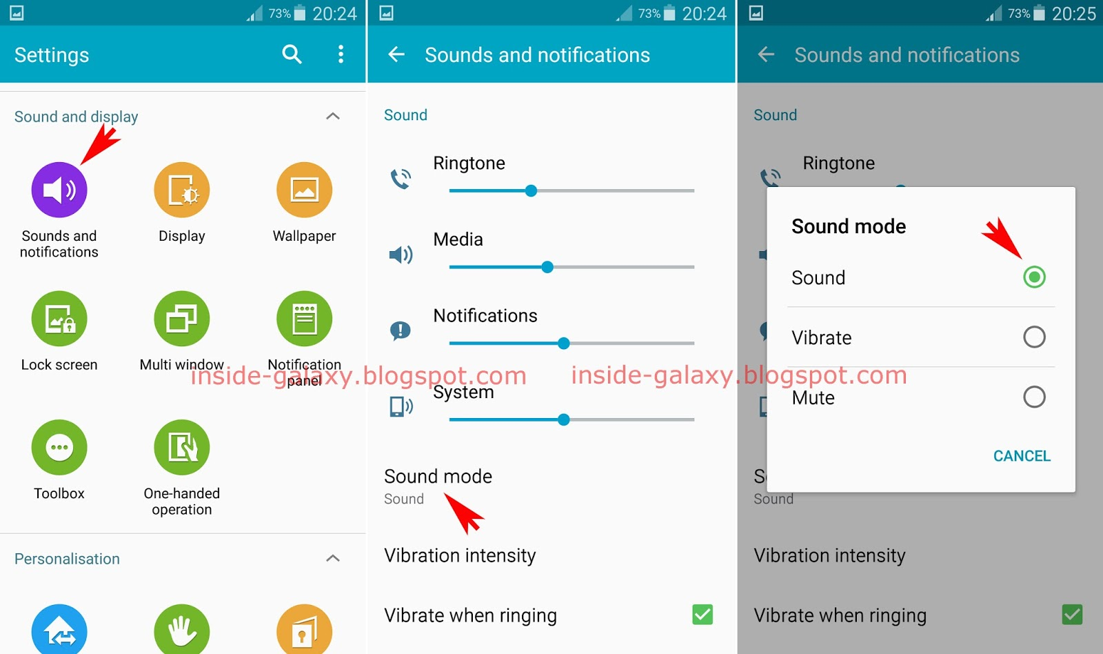 how to change notification ringtone on samsung galaxy s5