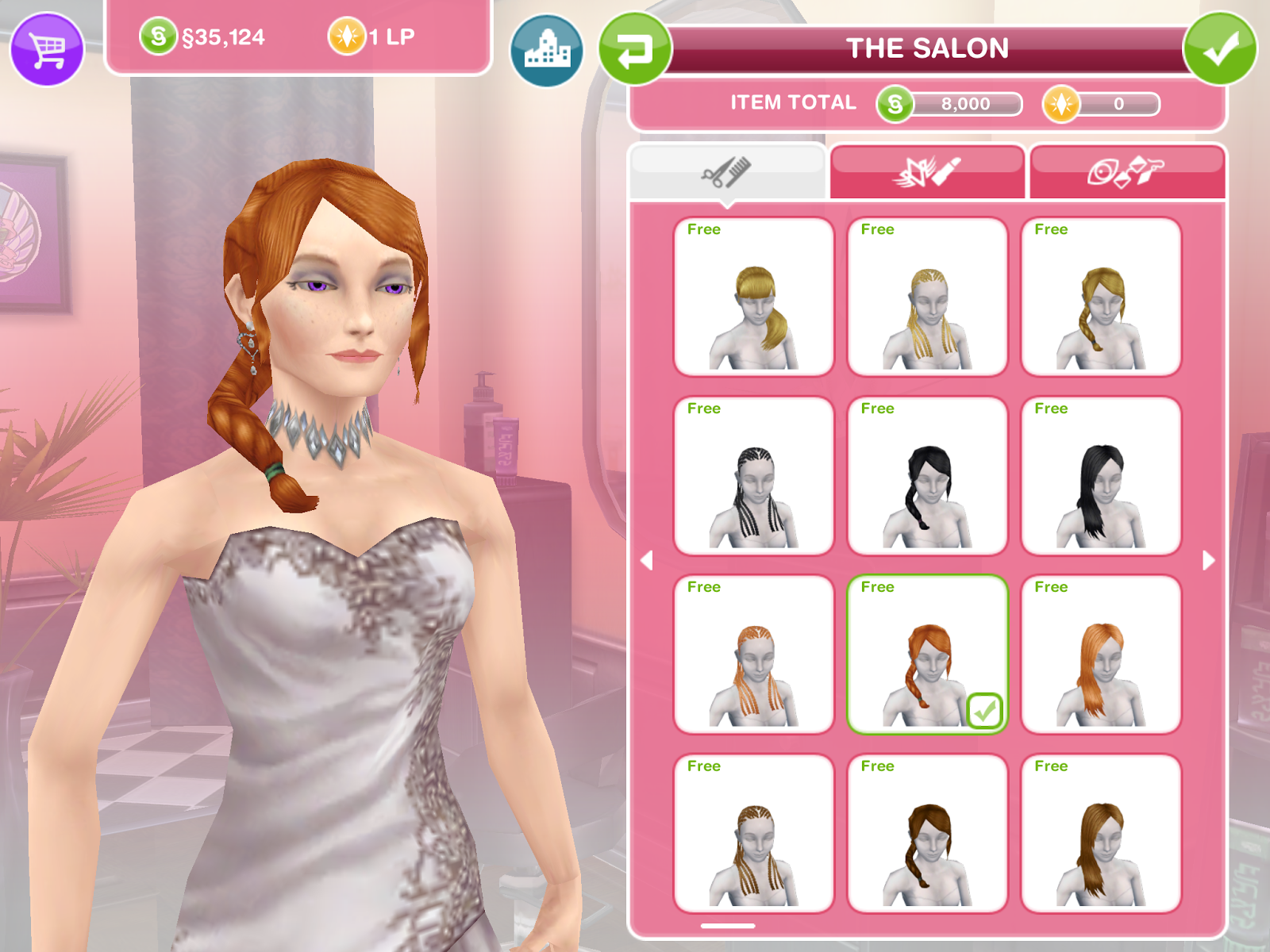 Missy39s Sims And Stuff The Sims Freeplay Ringlets Of Fire Long