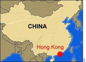 Map Of Hong Kong China
