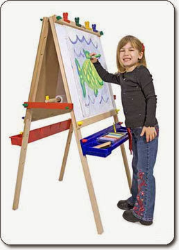Melissa & Doug Deluxe Standing Easel painting and drawing