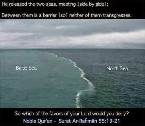 where 2 seas meet but dont mix