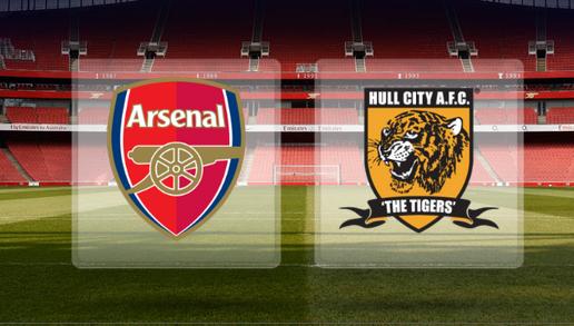 مشاهدة مباراة هال سيتي وآرسنال 20-4-2014 بث مباشر علي بي أن سبورت مجانا Hull City vs Arsenal