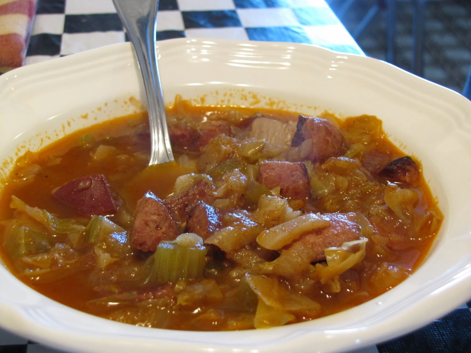 Kielbasa, Turnip  Cabbage Soup ~ Faithfulness Farm