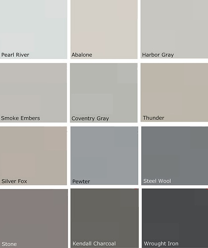 Beautiful living gray day for Popular light paint colors