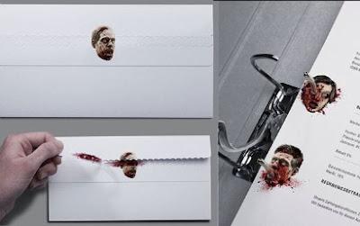 Articulos de papeleria zombi