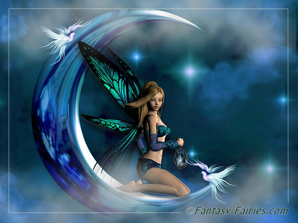 Amazing fairy and moon wallpapers free images fun amazing fairy and moon wallpapers altavistaventures Image collections