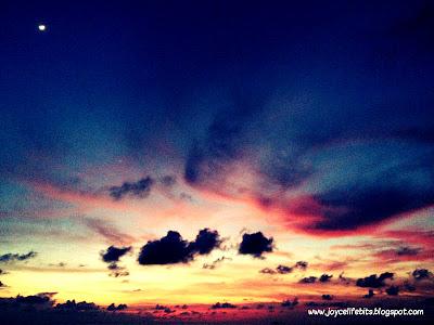beautiful sunset tioman joyce yap