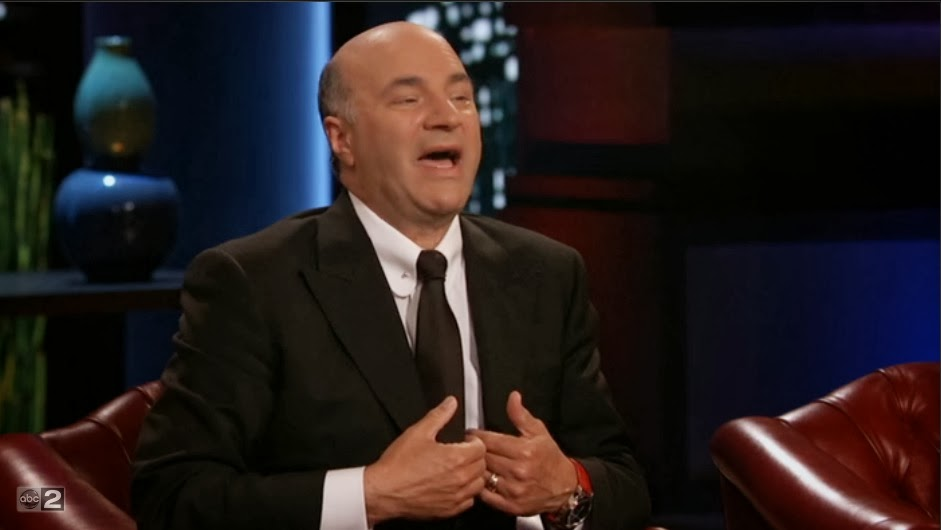 kevin o'leary shark tank feel bad
