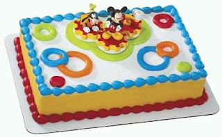 Mickey Mouse Cakes for Children's Parties
