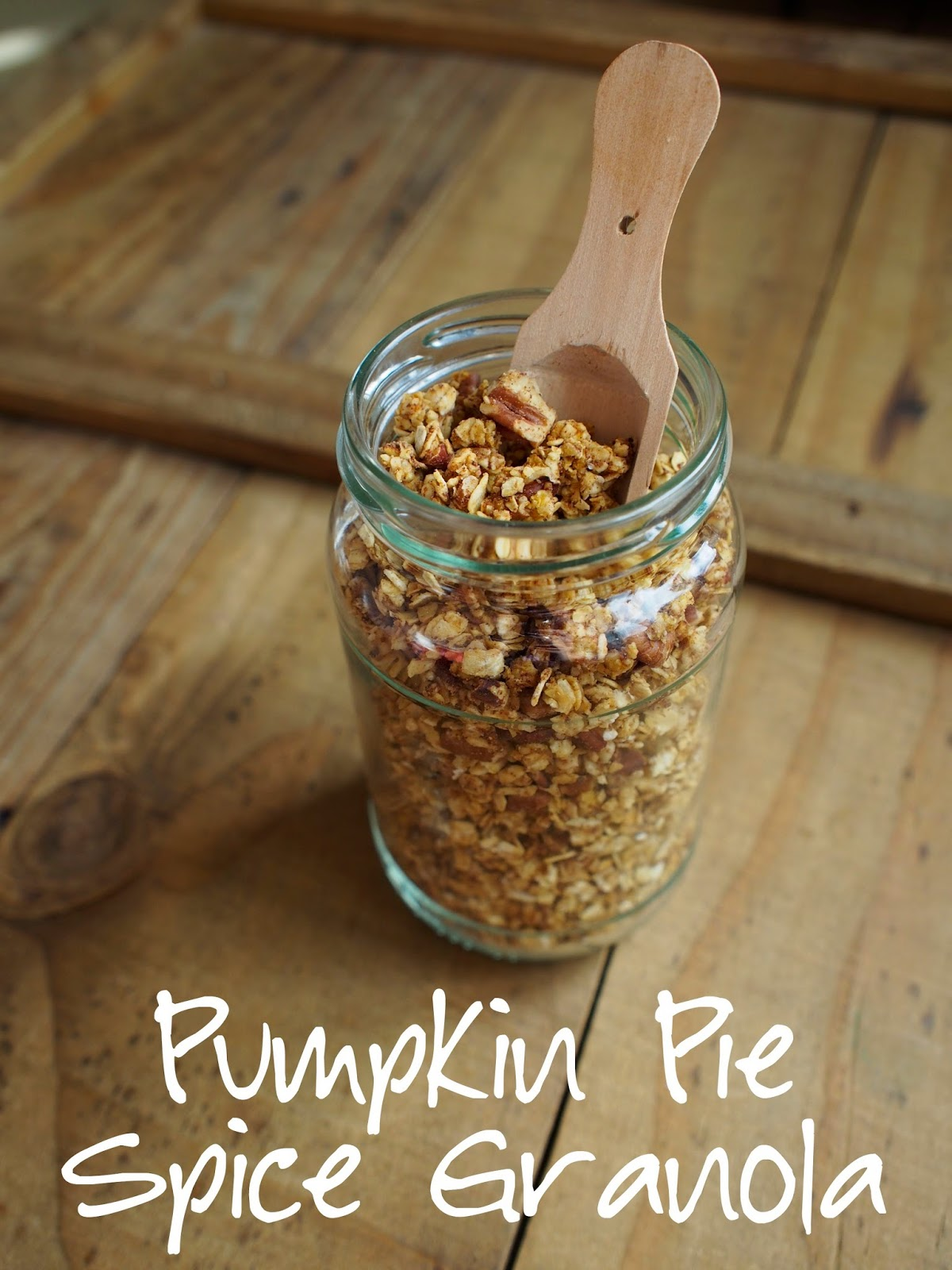pumpkin, granola, oats, pie spice, food, in the kitchen