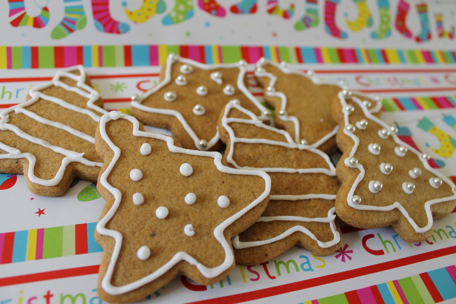 A Slice In The Life Of Julie Spiced Christmas Biscuits