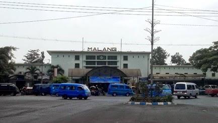 alamat stasiun kota malang