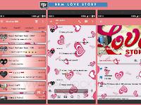 BBM Love Story v2.9.0.51 - BBM MOD Cantik