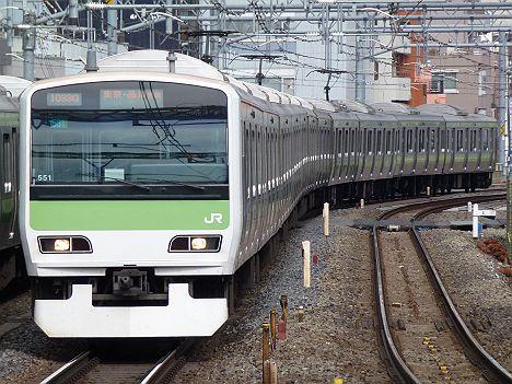 山手線 東京・品川方面行き