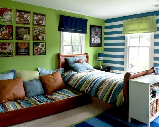 Desain kamar tidur anak remaja