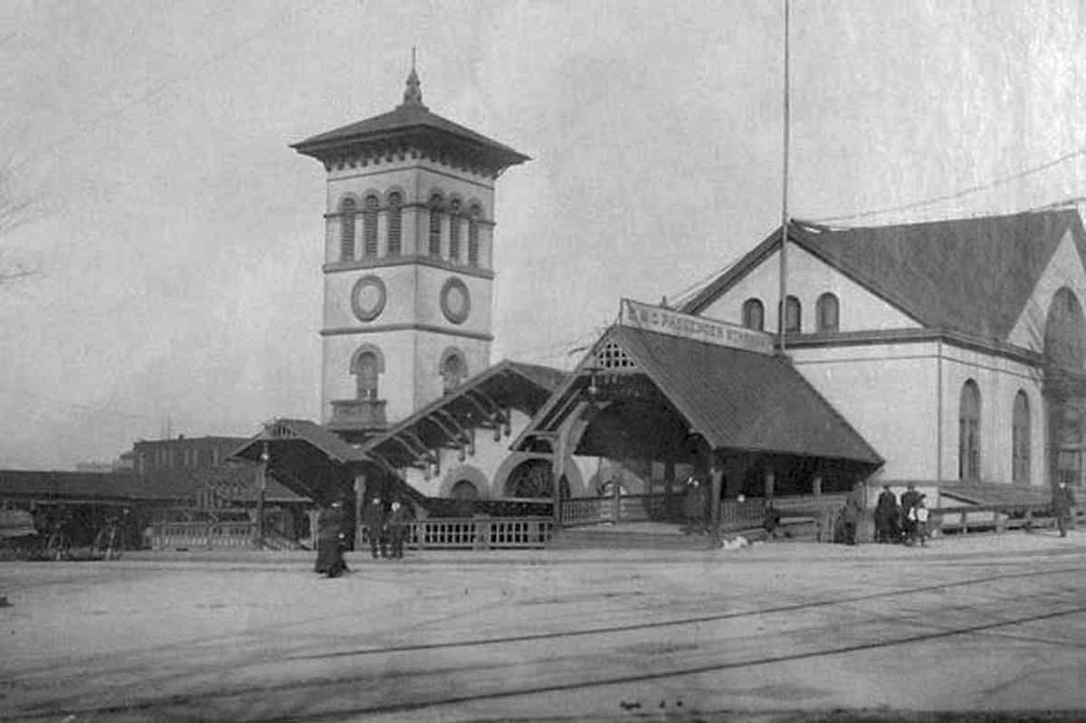 Civil War Washington D C B Amp O Railroad Station New