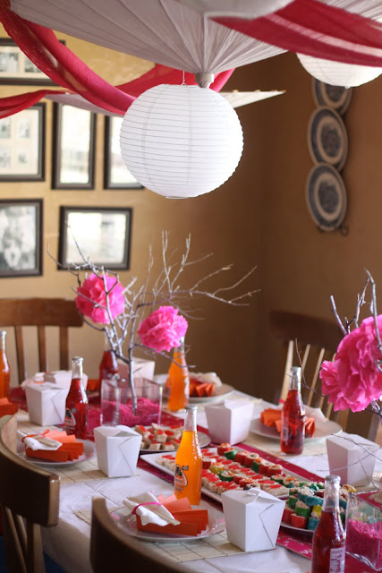 Blessed beyond measure asian themed party for Asian party decoration