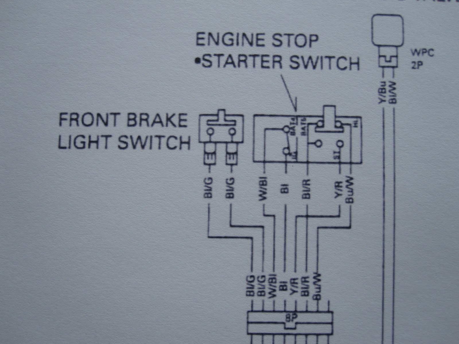 Reconfigured Controls The Gb500 Experience Honda Xbr500 Wiring Diagram Gb And Cbr Have Different Styles Of Kill Switch Starter With Some Help From Friends I Got It Sorted At Expense Having A Functioning