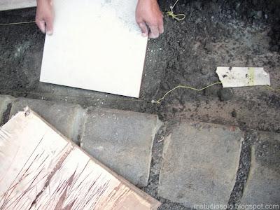 pemasangan lantai keramik langkah 4