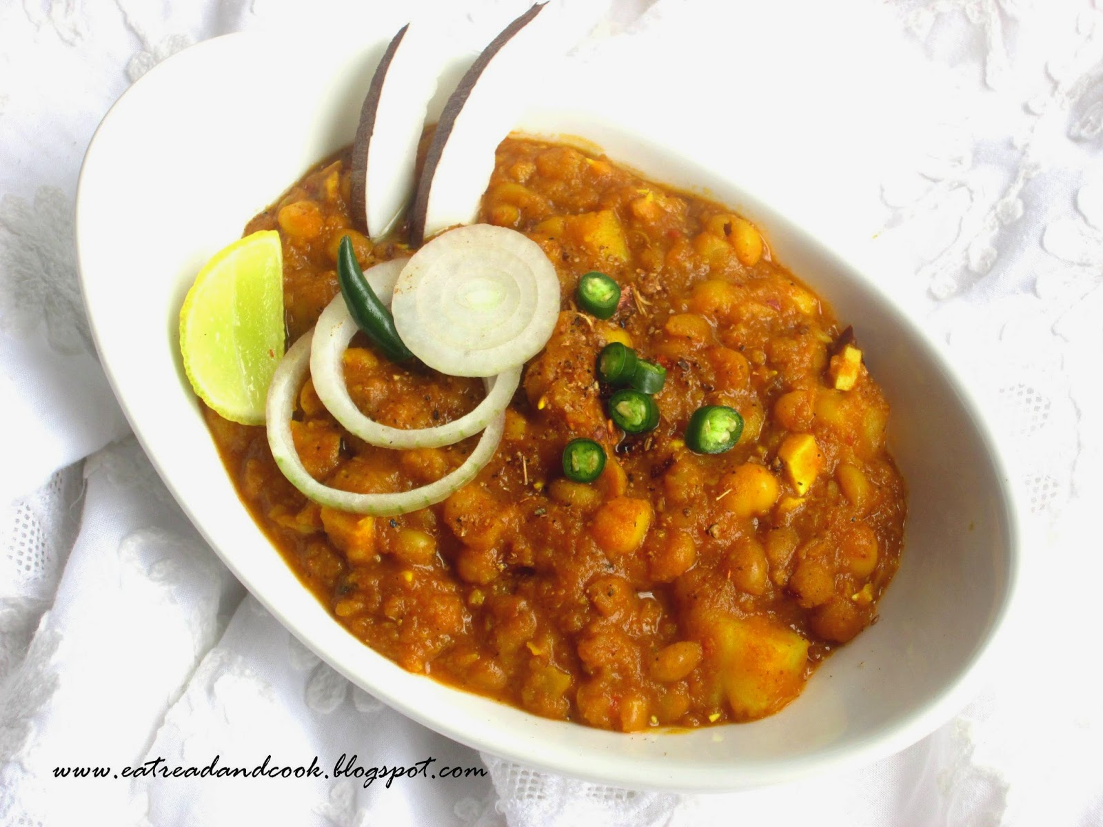 matar ghugni bengali recipe
