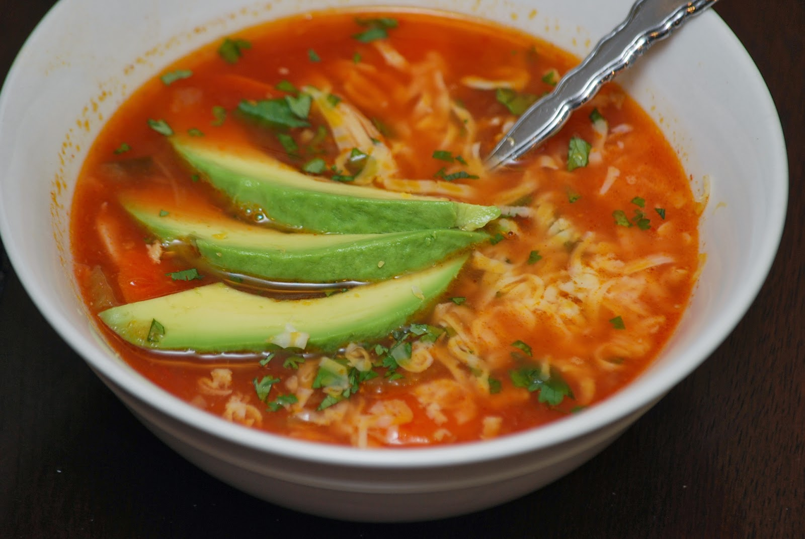My story in recipesMexican Chicken Soup