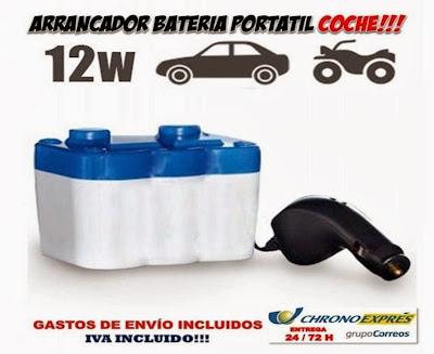 arrancador bateria coche