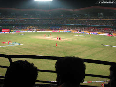 First IPL Match in Kochi