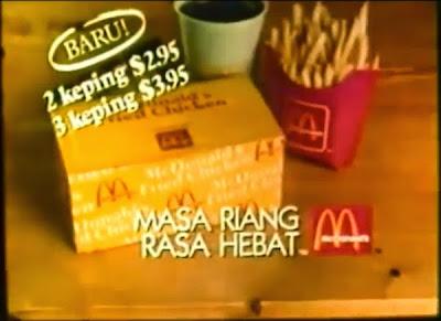 Harga McD Pada Tahun 1980