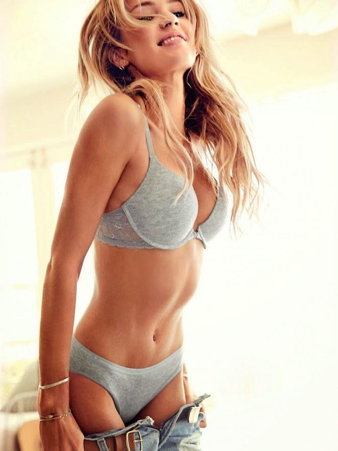 Candice Swanepoel - Victoria's Secret Lookbook 2014