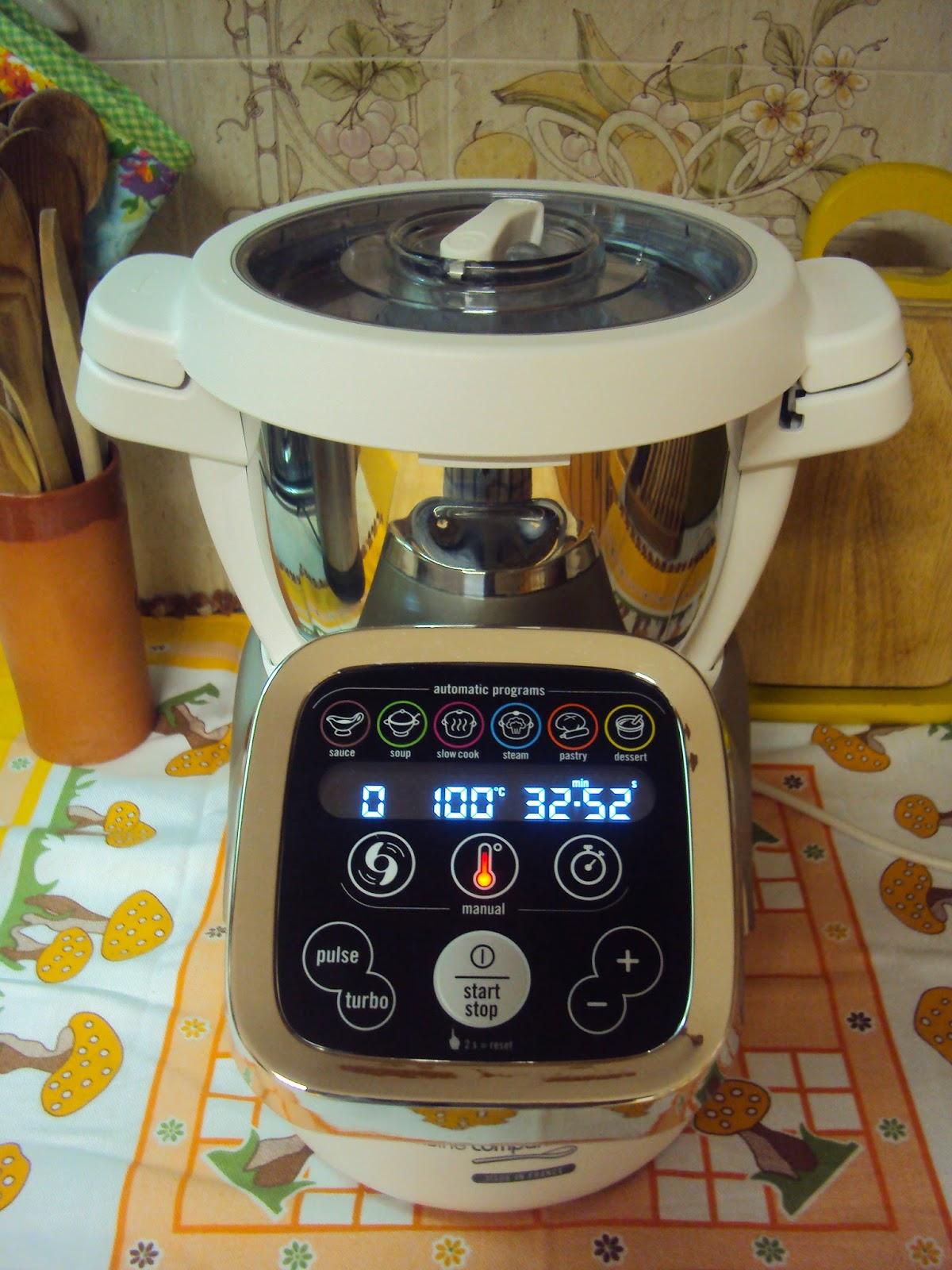 Cantinho da zezinha robot cuisine companion da moulinex for Cuisine companion