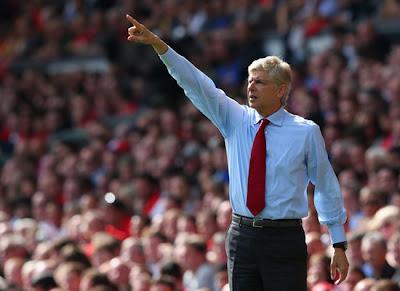 Arsene Wenger Liverpool v Arsenal 2012