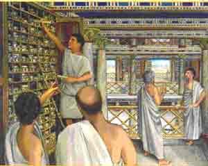 ¿Cómo se destruyó la biblioteca de Alejandría?