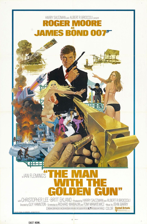Man with the golden gun midget