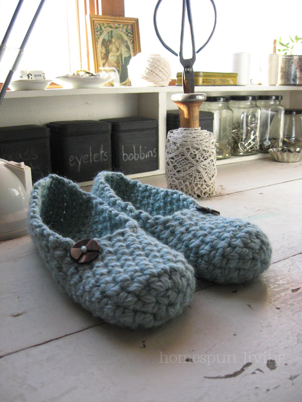 Easy to Make Crochet Slippers - LoveToKnow: Advice women can trust