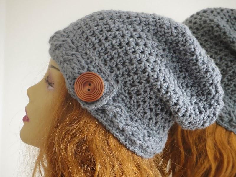 09021a87c39 Sydney Slouch Hat Crochet Pattern