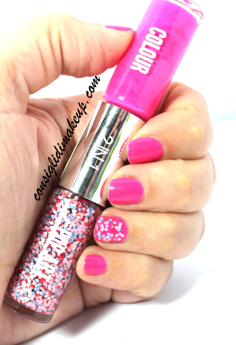 Notd: 2in1 Colour and Pop Art Knightsbridge Place and Sloane Street - Nails Inc